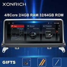 Autoradio Android 10.0, 4 go, Navigation GPS, système CCC/CIC Original, lecteur multimédia, pour voiture BMW X5 E70, X6 E71 (2007-2013)