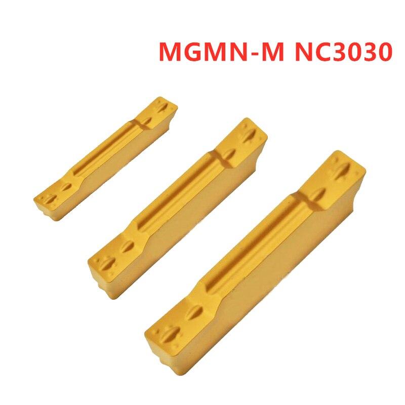 50pcs KORLOY MGMN300-M PC9030 Carbide Inserts New