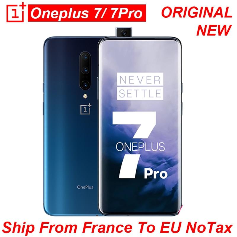 OnePlus 7 Pro Smartphone Global Rom Snapdragon 855 Octa Core  Fluid AMOLED Screen Google Play Unlock Original And New CellPhone
