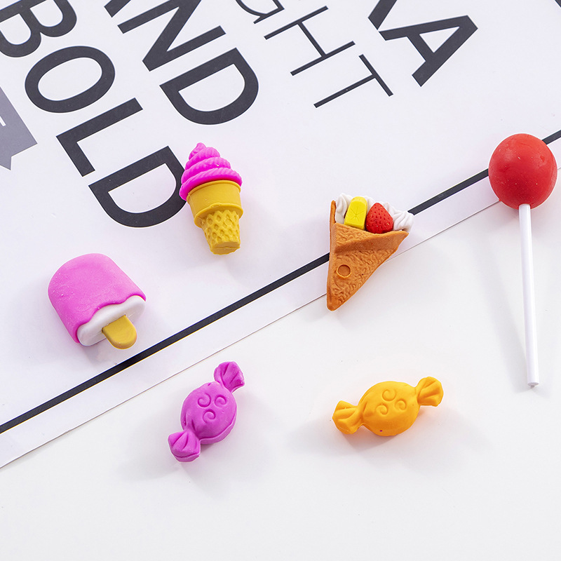 2019 New Stationery Creative Small Snack Styling Eraser