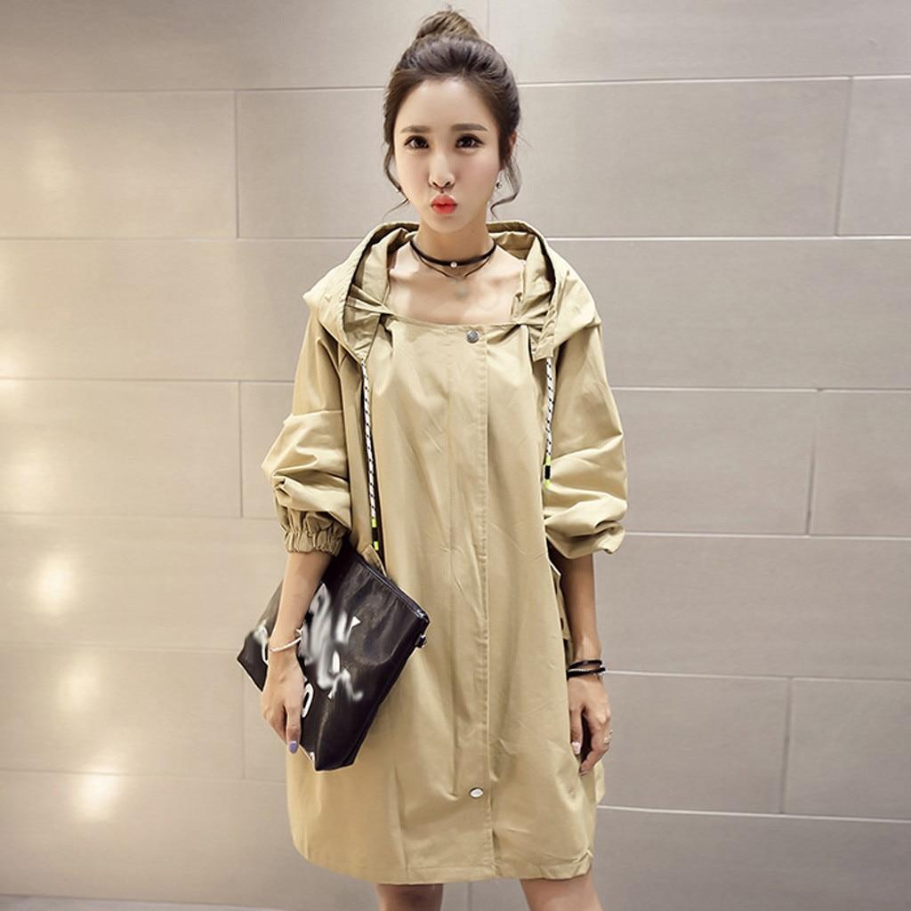Women Jackets Winter Warm Printing Loose Clothing Long Sleeve Causal Windbreaker Outwear Long Coats Women Куртка Женская