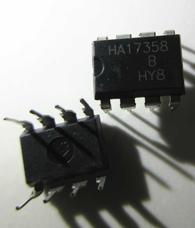 10 Pcs Baru HA17358 HA17358A HA17358B DIP-8 Di Saham