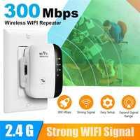 Wi-fi sem fio repetidor wi-fi extensor 300 mbps wi-fi amplificador 802.11n/b/g impulsionador repetidor wi fi reapeter ponto de acesso