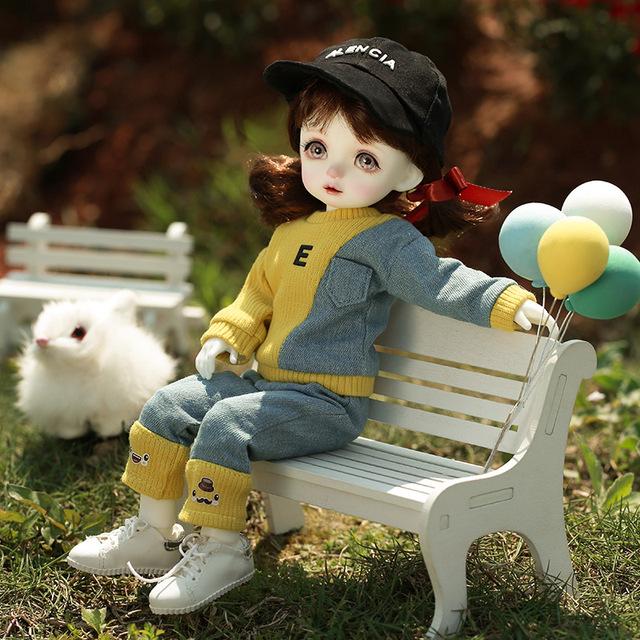 Nine9 Pio Doll  BJD 1/6 Yosd Body fullset complete professional makeup Toys for Girls High Fashion Surprise Gifts