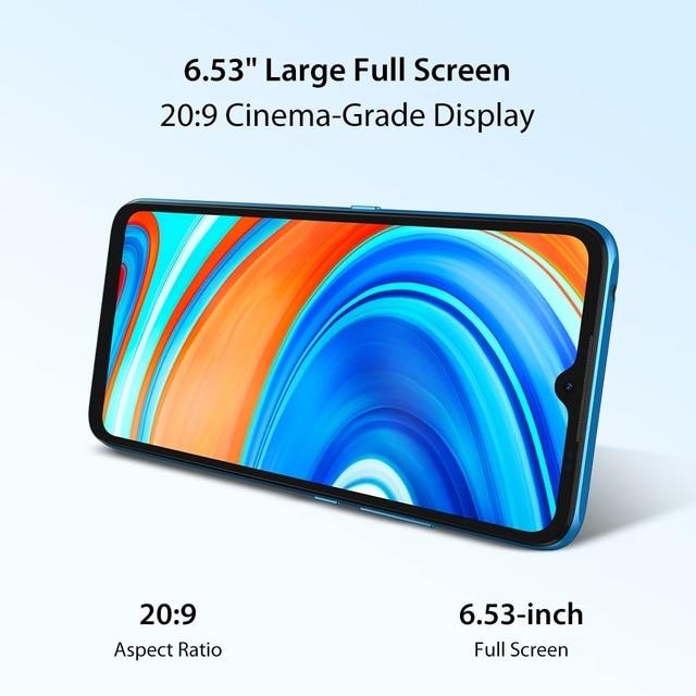 "Original UMIDIGI A9 Global Version Android 11 3GB 64GB 13MP AI Triple Camera Helio G25 Octa Core 6.53"" HD+ 5150mAh Cellphone 5"