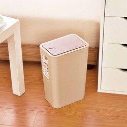 Slim naciśnij typu kosz na śmieci duża pojemność Eco kosz na śmieci pojemnik na surowce wtórne do kuchni łazienka|Kosze na śmieci|Dom i ogród -
