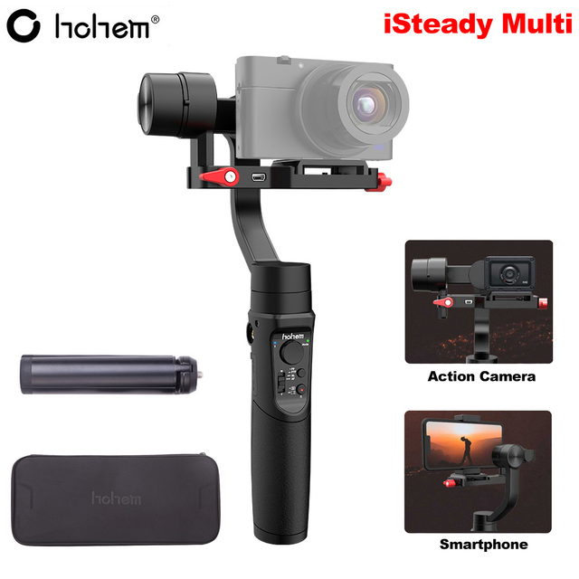 Hohem iSteady Multi 3 Axis Handheld Gimbal Stabilizer for Sony RX100 M2~M7 Digital Camera Action Camera Smartphone PK Crane M2
