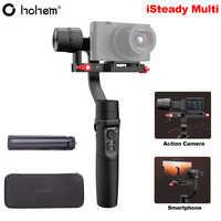 Hohem iSteady Multi 3-eje de cardán estabilizador para Sony RX100 M2 ~ M7 cámara Digital de acción Cámara Smartphone PK Crane M2