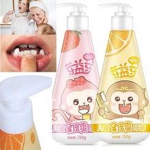 Toothpaste Child Fruit Baby Gums Accessories-Protection Whiten Baking Teeth