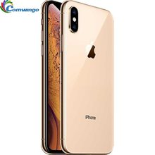 Original desbloqueado apple iphone xs iphone xs max 4g lte 4g ram 64gb/256gb rom a12 chip biônico ios