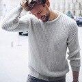 2019 outono inverno camisolas de algodão masculino manga comprida pulôver topos o pescoço malha jumper estilo coreano malhas roupas mais