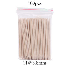 10/50/100 Pcs Wooden Cuticle Pusher Nail Art Cuticle Remover Set Orange Wood Sticks Cuticle Removal Manicure Care Nail Art Tools(China)