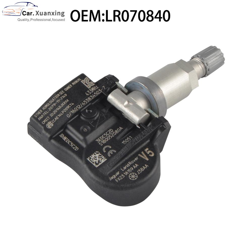 LR070840 Tire Pressure Sensor Monitoring System TPMS 433Mhz For Land Rover Discover Miracle Jaguar F XE XF XJ