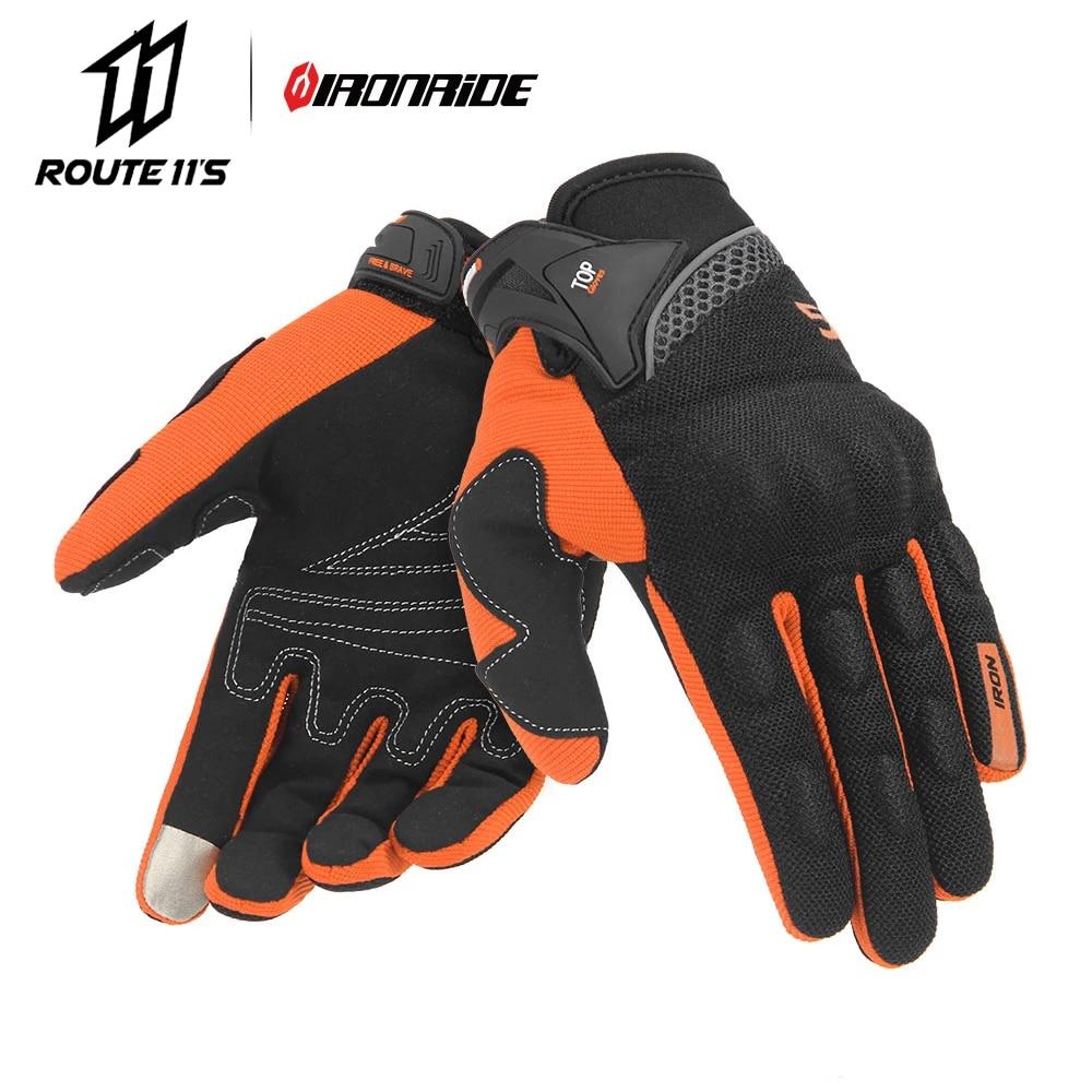 SUOMY Men Motorcycle Gloves Racing Gant Moto Motorbike Motocross Riding Gloves Motorcycle Breathable Summer Full Finger Guantes