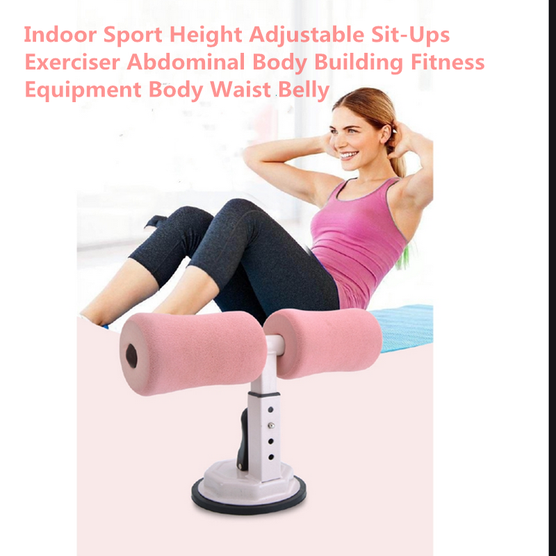 Indoor Sport Height Adjustable Sit Ups Exerciser Abdominal Body Building Fitness Equipment Body Waist Belly|Push-Ups Stands| - AliExpress