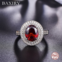 2019 Trendy Engagement Ruby Ring 925 Sterling Silver Rings For Women Gemstone Ring Fine Natural Amethyst ring  Cocktaill Party leige jewelry natural green amethyst ring cushion cut engagement promise rings for women green gemstone fine jewelry