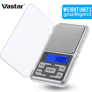 Electronic Digital Pocket Scale 0.01g Precision Mini Jewelry Weighing Scale Backlight Scales 0.1g for Kitchen 100/200/300/500g(China)
