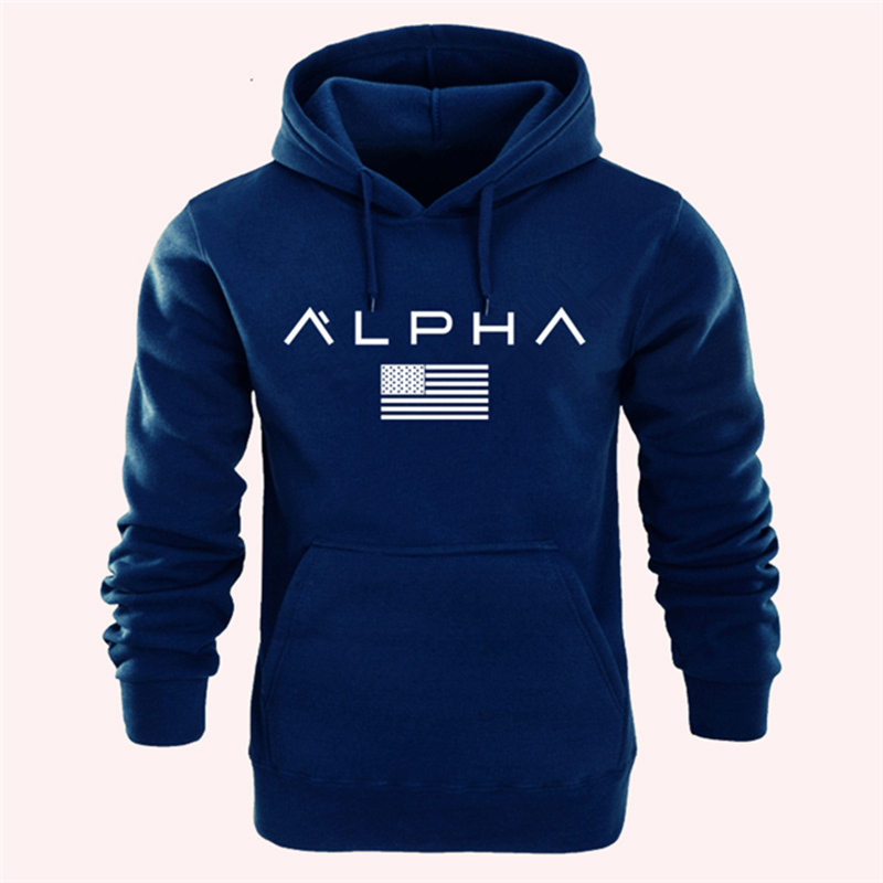2020 Newest Fashion Men Hoodies Sweatshirt Alpha Print Hoodies Men/Women Casual Pullover Autumn Winter Fleece Hooded Sportswear