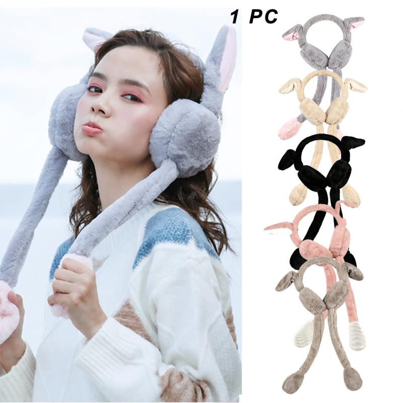Winter Imitation Rabbit Breatheable Portable Indoor Ear Protector Keep Warm Travel Workout Gifts Accessories Earmuff Comfortable