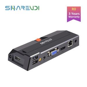 R0 Quad-core Thin Client 8G Flash Computer Virtual Cloud Terminal Window 7/10/XP Local Linux RDP8.0 Desktop HDMI Zero Client