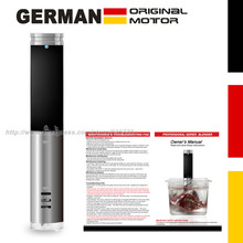 New in 2020 German 10% energy saving technology. 1000 Watts IPX7 Waterproof  vacuum cook Food cooking machine . sous vide cooker