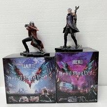 ARTFX Doll J Devil May-Cry Figure NERO DANTE Statue Action Figure Model Toy Gift Boy 28cm 10 pollici