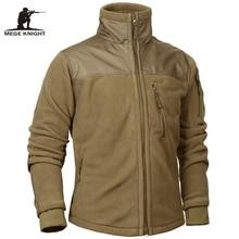 Mege מותג טקטי צבאי בגדי צמר סתיו חורף גברים של מעיל צבא קוטב חם זכר מעיל להאריך ימים יותר jaquetas masculino