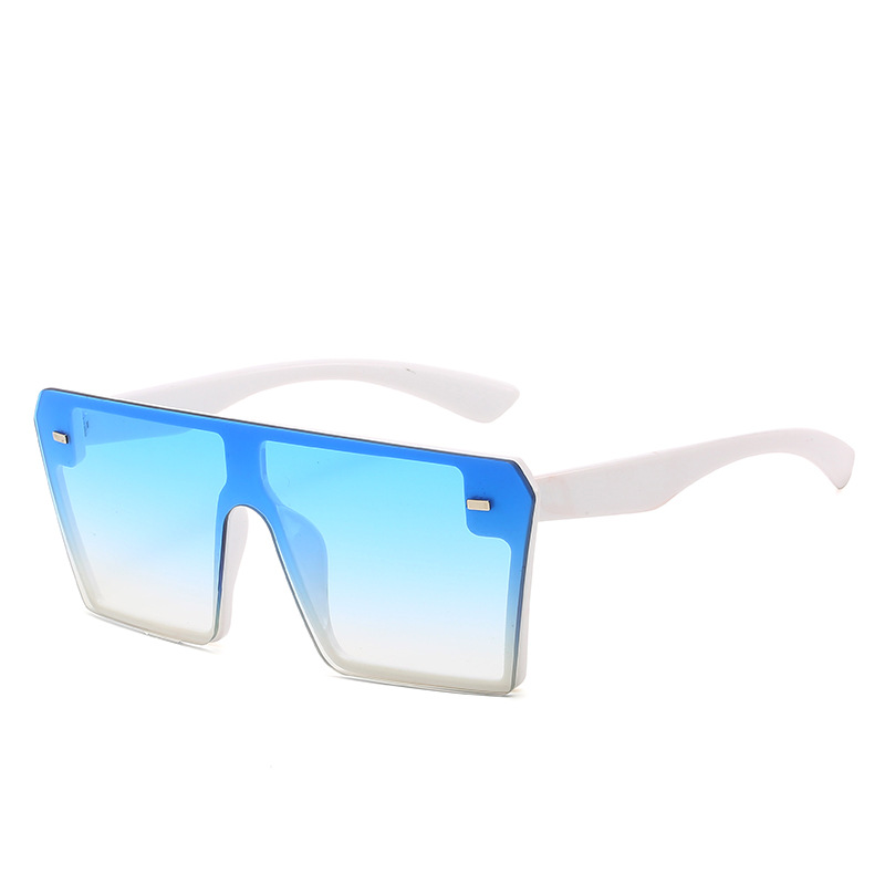Kid Kid Adult Sunglasses Fashion Glasses Gradient Square Frame Sunglasses Outdoor Uv Protection Goggle Eyewear For Sunshine
