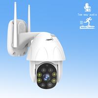 Outdoor PTZ IP Camera Home Security Surveillance Camera 1080P FHD 8 LEDS HD Night Vision P2P Onvif Speed Dome CCTV Cameras