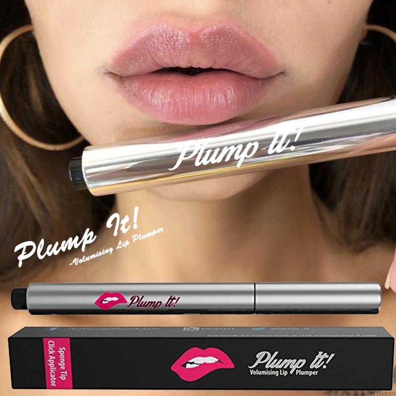 Plump It! Collagen Lip Plumping Gloss Instant Volumising Lip Plumper Moisturizer Lip Gloss Lips Enhancer Essence Cosmetics