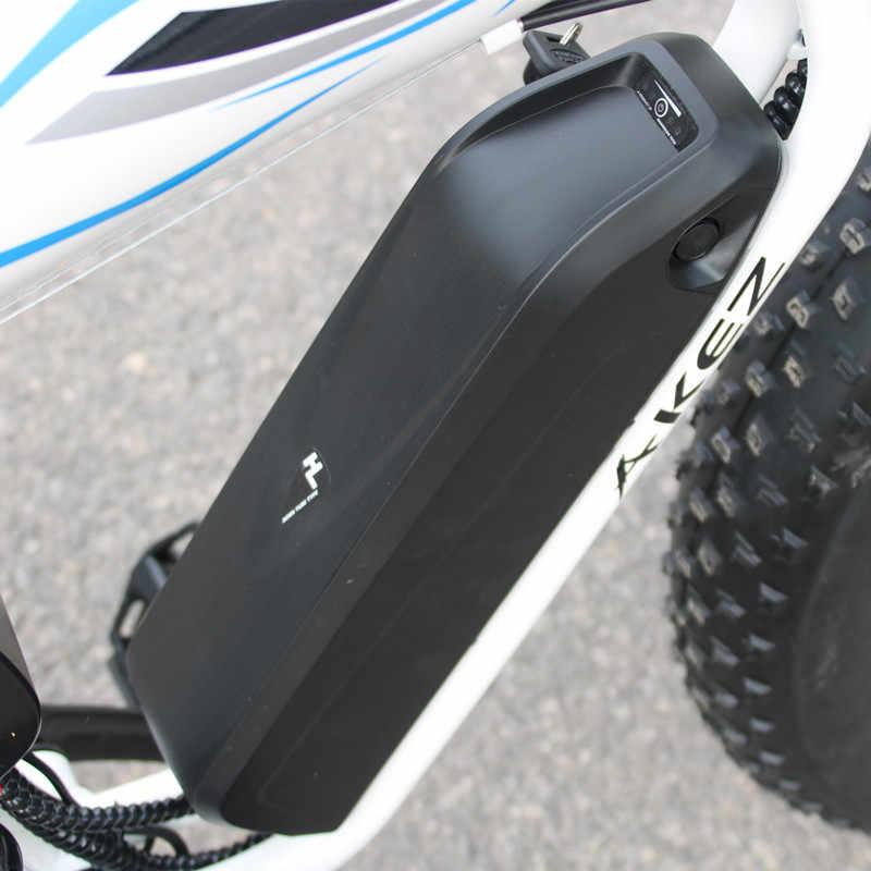 Bicicleta eléctrica de aleación de aluminio 350W grasa eléctrica fuerte batería de litio moto de nieve eléctrica 26*4 fertilizante de bicicleta todoterreno