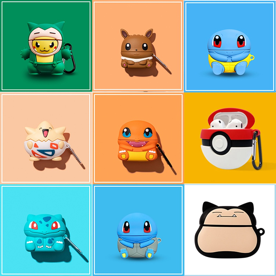 3D Headphone Case For Airpods Pro Case Silicone Stitch Dog Cartoon Earphone/Earpods Cover For Apple Air Pods Pro 3 Case Keychain
