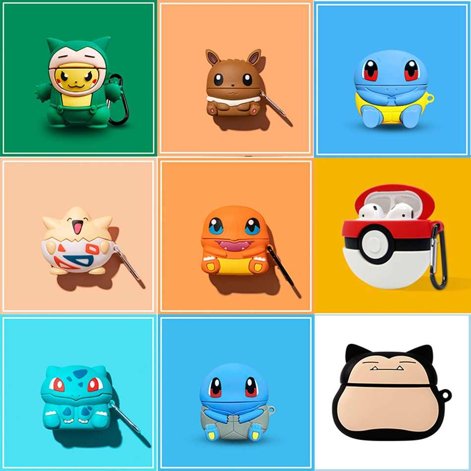 3d Headphone Case For Airpods Pro Case Silicone Stitch Dog Cartoon