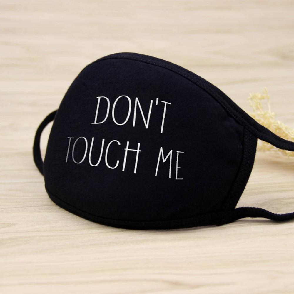 Fashion Black Prevent Dust Haze Breathable Mask Cotton Mouth Mask Anti Dust Windproof Women Men Mouth-muffle Face Masks Care D30