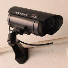 Monitor Security Guard Simulation Surveillance Camera Outdoor Indoor Dummy IR Camera Built In LED Flashing Light simulation camera simulation monitor high simulation with sensor false monitor