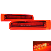 2x high level LED car 3rd level rear stop light red&black brake lamps for Volkswagen T5 T6 for MULTIVAN CARAVELLE 03 16 SAFTLY