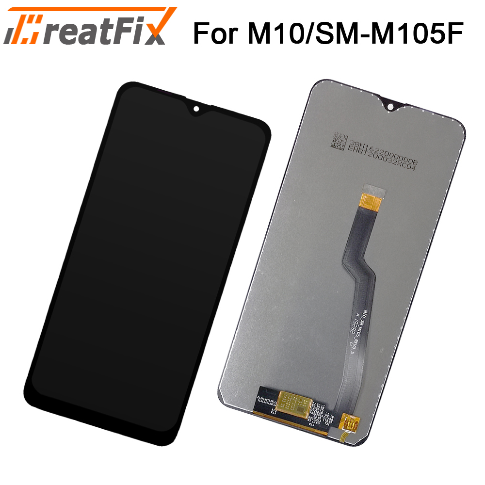 For <font><b>Samsung</b></font> SM-M105F <font><b>M10</b></font> Display <font><b>lcd</b></font> <font><b>Screen</b></font> replacement for <font><b>Samsung</b></font> M105F SM-M105F <font><b>M10</b></font> <font><b>lcd</b></font> display touch <font><b>screen</b></font> complete Tested image