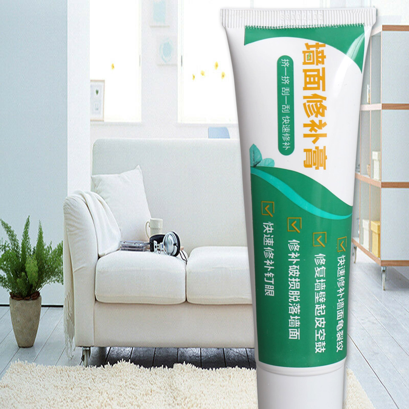 1/2/3pcs Wall Mending Agent Repair Cream Crack Repairing Quick Drying For Home Kitchen DEC889