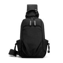 Multipurpose Men Shoulder Bags Nylon Waterproof Travel Sling Bag Crossbody Male Outdoor Fashion Chest Daily Messenger Bag Bolsas