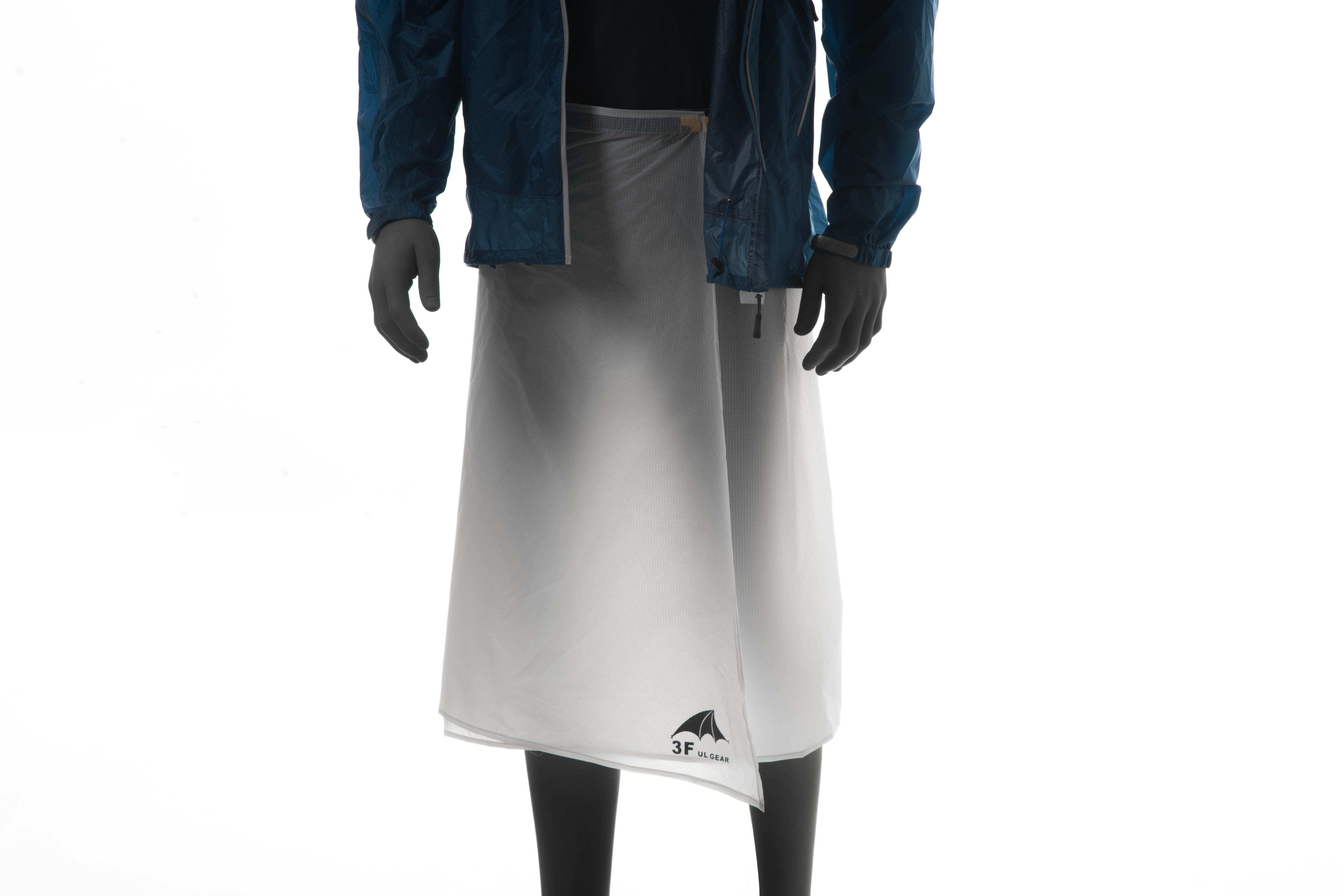 3F UL GEAR cyclisme Camping randonnée pantalon de pluie léger imperméable jupe de pluie 65g