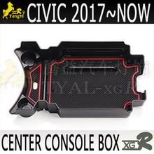 Xgr ящик для хранения центральной консоли для 10-го civic