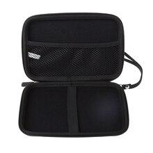 7 Cal twarda osłona torba do noszenia torebka na suwak futerał ochronny dla Garmin Nuvi TomTom Sat nawigacja GPS