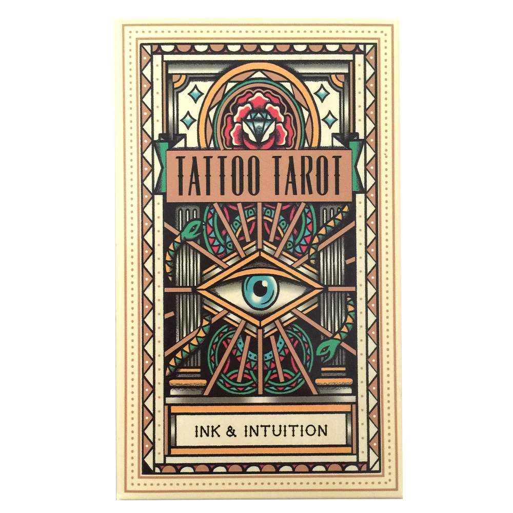 Hot Selling For patry game Playing cards  the 78-card deck Tattoo Tarot cards