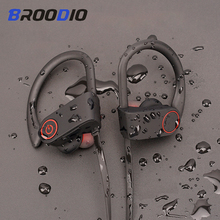 Sport Bluetooth Headphone Stereo Ear hook Wireless Earphones Waterproof Bluetooth 5.0 Headset With Microphone For iPhone Huawei