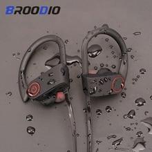 Sport Bluetooth Kopfhörer Stereo Ohr haken Drahtlose Ohrhörer Wasserdicht Bluetooth 5,0 Headset Mit Mikrofon Für iPhone Huawei
