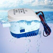 750GPH 1100GPH автоматические Трюмные насосы 12V 24V DC Электрический погружной водяной насос небольшой 12 вольт 750 1100 gph авто