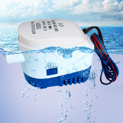 750GPH 1100GPH automatyczna pompa zęzowa do łodzi 12V 24V DC zatapialna elektryczna pompa wodna mała 12 v volt 750 1100 gph auto