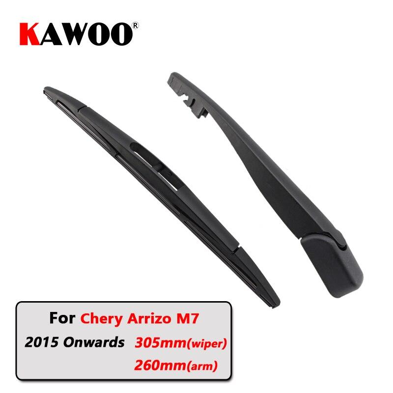 Автомобильные щетки kawoo, задние щетки стеклоочистителя, дворники для заднего стекла, рычаг для Chery Arrizo M7 Hatchback (2015-), 305 мм, автомобильные лезви...