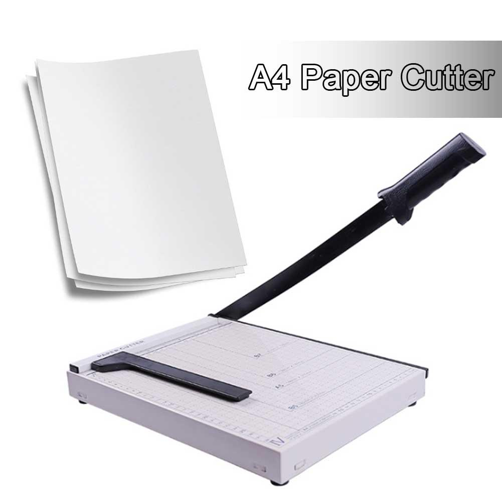 Newest A4 Paper Cutter Trimmer Guillotine Ruler Precision Photo Portable Scrapbook Trimmers Cutter Industrial Grade Knife Cutter