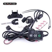 12V-24V USB Charger Port Charging for Mobile Phone GPS Navig